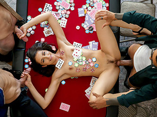 Too horny for the poker